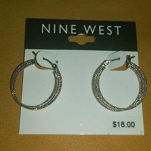 NWT Nine West earrings